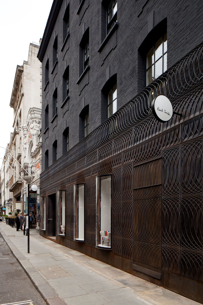Exceptionnel Paul Smith's Cast-Iron Fronted Store In London   uberkreative LB59