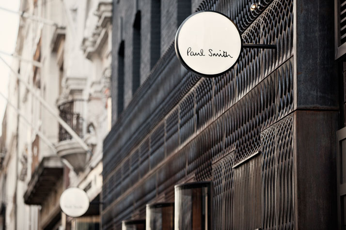 Super Paul Smith's Cast-Iron Fronted Store In London | uberkreative WL45